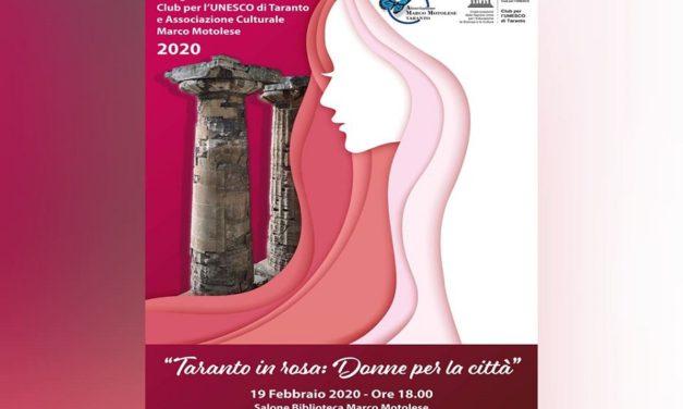 Inaugurazione dell'anno sociale Club per l'Unesco di Taranto e dell'Associazione Marco Motolese