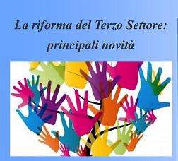 """Evento formativo """"La riforma del terzo settore: principali novità"""", ultimi giorni per iscriversi"""