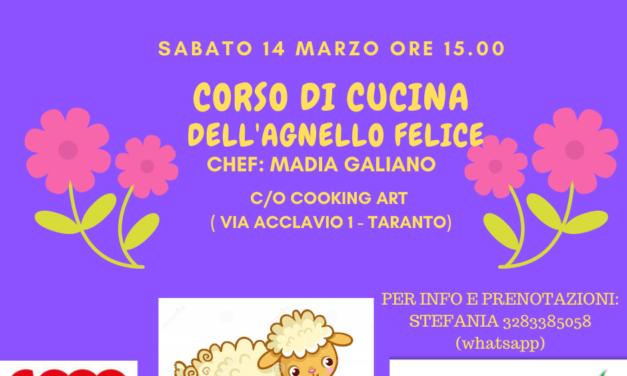 Corso di cucina dell'Agnello Felice