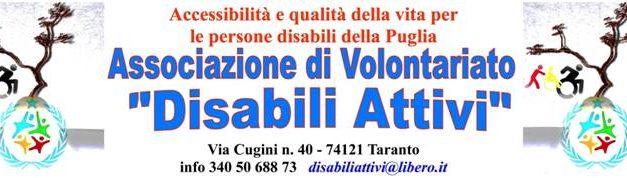 """Venerdì 28 febbraio, secondo incontro pubblico dell'Associazione """"Disabili Attivi"""""""