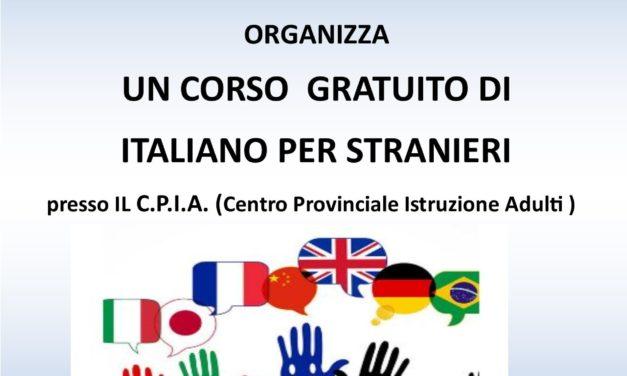 Corso di italiano per stranieri dell'ANTEAS di Taranto