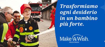 Make-A-Wish Italia Onlus rinvia il training programmato per aprile
