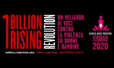 Ritorna One Billion Raising  per dire NO alla violenza di genere