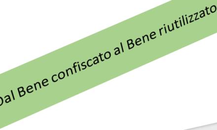 """""""Dal Bene confiscato al Bene riutilizzato: strategie di comunità per uno sviluppo responsabile e sostenibile"""""""