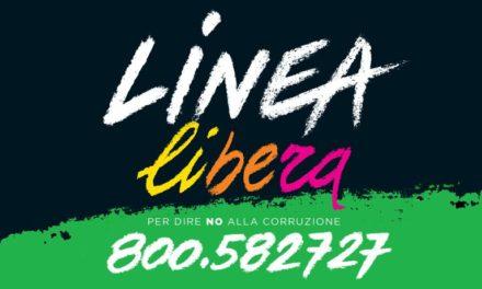 """""""Linea Libera"""". Un numero verde per denunciare mafie e  corruzione"""