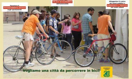 Ripartire in bicicletta. La proposta di Legambiente Taranto per una mobilità sostenibile