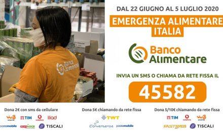 """""""Emergenza Alimentare Italia"""", la campagna di raccolta fondi promossa dalla Fondazione Banco Alimentare Onlus"""