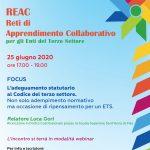 Nuove date per i Focus tematici del progetto REAC