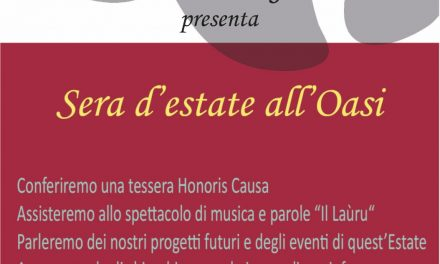 Sera d'estate all'Oasi WWF Monte Sant'Elia