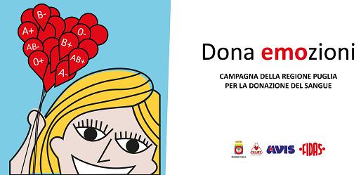 Dona emozioni: al via la campagna per la donazione del sangue