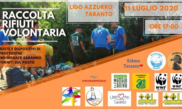 A Lido Azzurro nuovo appuntamento di raccolta rifiuti volontaria