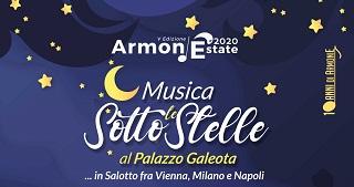 """""""ArmoniEstate 2020"""". Musica classica sotto le Stelle a Palazzo Galeota"""