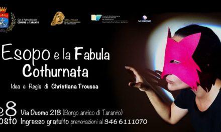 """""""Esopo e la Fabula Cothurnata"""", spettacolo teatrale per bambini"""