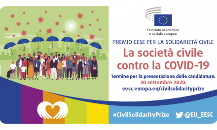 """Premio """"La società civile contro la Covid-19"""""""