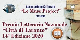 """XIV edizione del Premio Letterario Nazionale """"Città di Taranto""""…la premizione"""