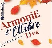 """ArmoniE d'Ottobre 2020 live"". Ultimi appuntamenti"