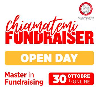 Open Day del Master in Fundraising. Tutte le novità sulla didattica in streaming, in aula e online