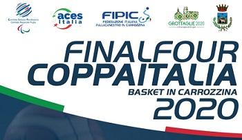 """Final four Coppa Italia di basket in carrozzina 2020 """"Trofeo Antonio Maglio"""""""
