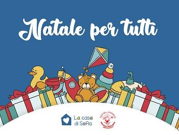 """Progetto""""Natale per Tutti"""" per regalare un Natale speciale ai bimbi con gravi disabilità"""