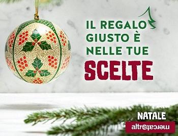 Per Natale CSVnet sostiene le botteghe di Altromercato