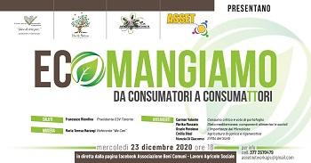 """Progetto """"Eco Mangiamo"""" da consumatori a consumaTTori"""