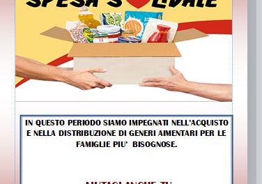 La spesa solidale dell'Anteas Taranto