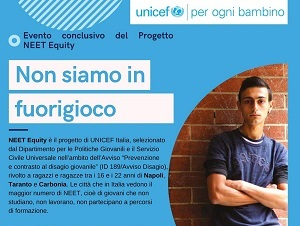 UNICEF/NEET Equity: evento conclusivo