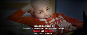 Campagna #iosonoarischio di AIL per garantire continuità assistenziale ai pazienti ematologici