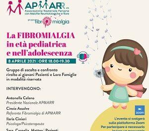 Un incontro online per parlare della Fibromialgia in età pediatrica e nell'adolescenza