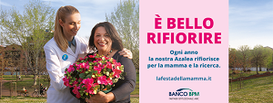 """Torna domenica 9 maggio l'""""Azalea della Ricerca"""""""