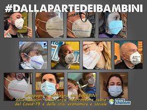 #DALLAPARTEDEIBAMBINI. La campagna di sensibilizzazione e raccolta fondi promossa dal Movimento Shalom