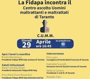 La FIDAPA incontra il C.U.M.M. di Taranto