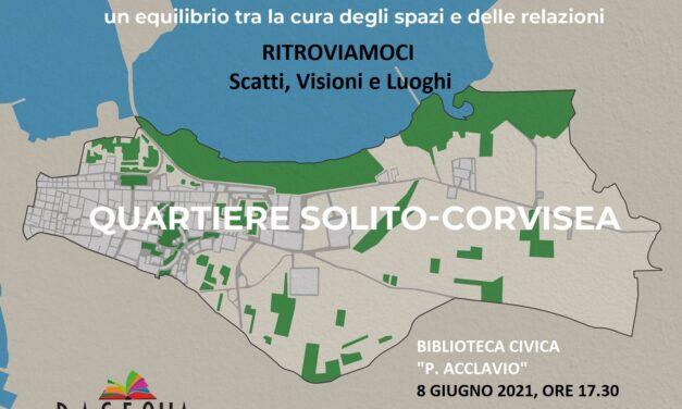 Il C.S.V. promuove l'iniziativa RITROVIAMOCI. Scatti, Visioni e Luoghi