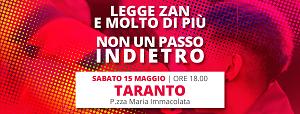"""""""Giornata Internazionale contro l'Omolesbobitransfobia"""", anche Taranto si mobilita"""
