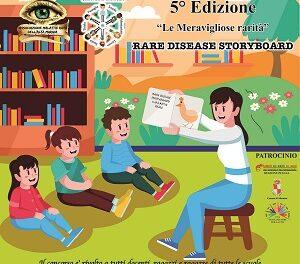 """5^ Edizione del concorso nazionale""""Rare Disease Storyboard"""""""