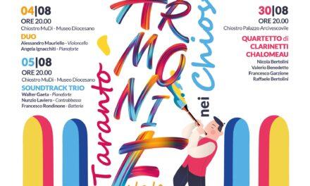 Il Duo Furia – Deiana  nella splendida cornice di Santa Chiara per ArmoniE nei Chiostri a Taranto