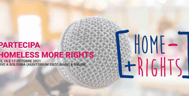 Ad ottobre il Festival dei diritti delle persone senza dimora