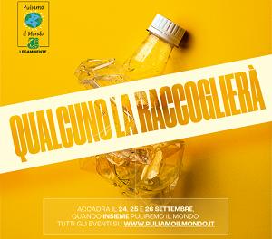"""""""Puliamo il Mondo 2021"""" – sabato 25 settembre a Taranto"""