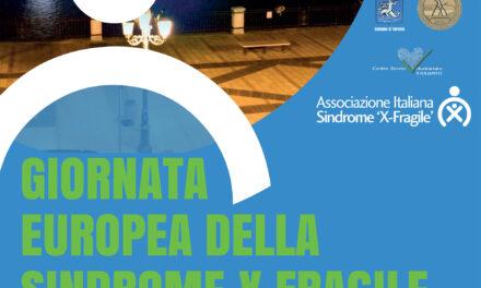 Giornata Europea della Sindrome X Fragile. Anche Taranto si illumina di blu